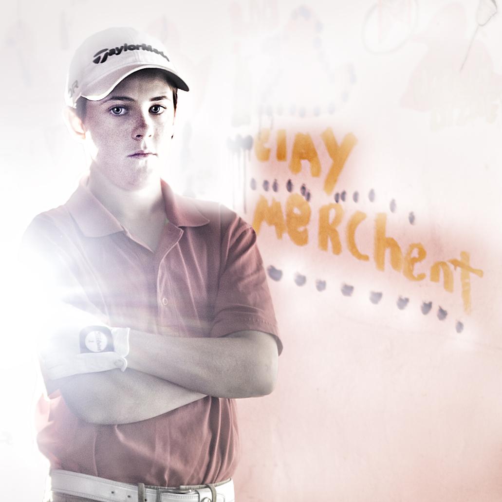 Clay Merchent, Junior Golfer