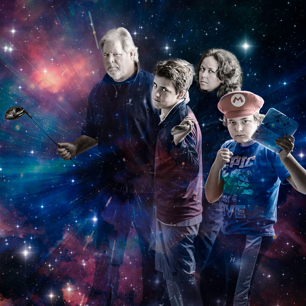 Family protecting the universe
