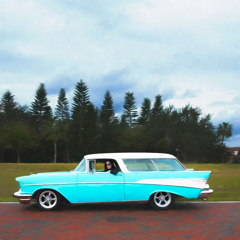 Tenna and her Bel Air